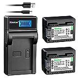 Kastar X2 Fully Decoded Battery + Slim LCD Charger for Canon BP-718 & VIXIA HF M50, HF M52, HF M500, HF R30, HF R32, HF R40, HF R42, HF R50, HF R52, HF R60, HF R62, HF R300, HF R400, HF R500, HF R600