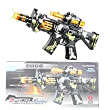 Anstoy Toy Machine Gun with Lights and Sounds Electric Toy M4 Submachine Gun Cosplay Gifts for Boys and Girls