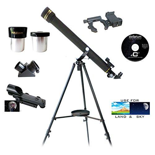 Galileo 700mm x 60mm Smartphone Photo Adapter Refracting Telescope