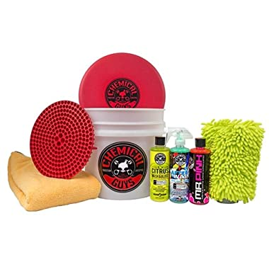 Chemical Guys HOL_128 Best Wash/Dry Kit (8 Items)