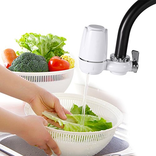Astibym Sistema de filtración del Grifo, purificadores de Agua saludables de los grifos para la Cocina