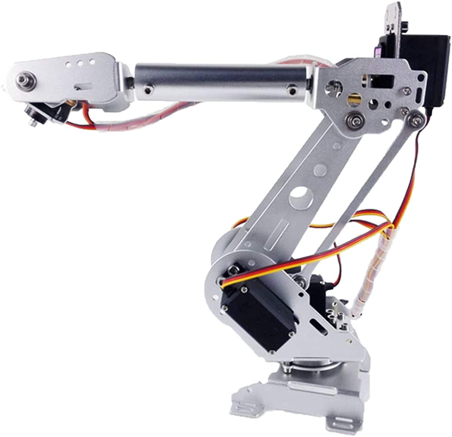MagiDeal DIY Robot Arm Claw 6 DOF Robot Mechanical Arm Kits with