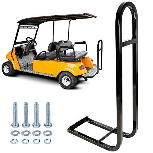 Roykaw Golf Cart Rear Seat Safety Grab Bar Fits EZGO Club Car Yamaha Add Safety to Your Rear Passengers