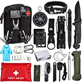 Best Survival Kits - Emergency Survival Kit 47 in 1 Professional Survival Review