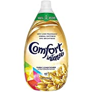 Comfort Intense Luxurious 100 Percent Recycled bottle* Ultra Concentrated Fabric Conditioner for Fresh Laundry 60 Wash 900 ml, Pack of 6