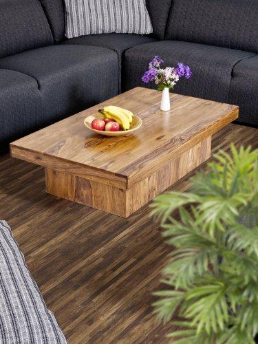 SEDEX Couchtisch Wohnzimmertisch Tisch Palisander Massivholz 118x70 cm Massivholztisch