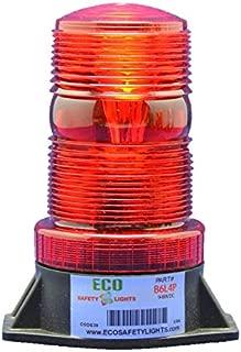 B6L4PAC 85-265V AC LED EMERGENCY WARNING SAFETY LIGHT BEACON STROBE EFFECT 110V 120V 220V 240V (RED)