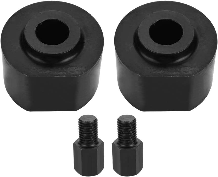 Black 2.5inch Front Leveling Lift Kit W//Stud Extender for Ford F250 F350 Super Duty 1999-2018 Leveling Lift Kit