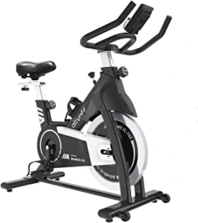 Ativafit Exercise Bike Stationary Indoor Cycling Bike 35 lbs Flywheel Belt Drive Workout Bicycle Training LCD Monitor / Ip...
