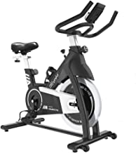Best Ativafit Exercise Bike Stationary Indoor Cycling Bike 35 lbs Flywheel Belt Drive Workout Bicycle Training LCD Monitor / Ipad Mount / Adjustable Handlebar for Home Cardio Workout Review