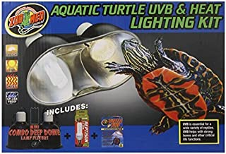 Zoo Med Aquatic Turtle UVB and Heat Lighting Kit by Zoo Med