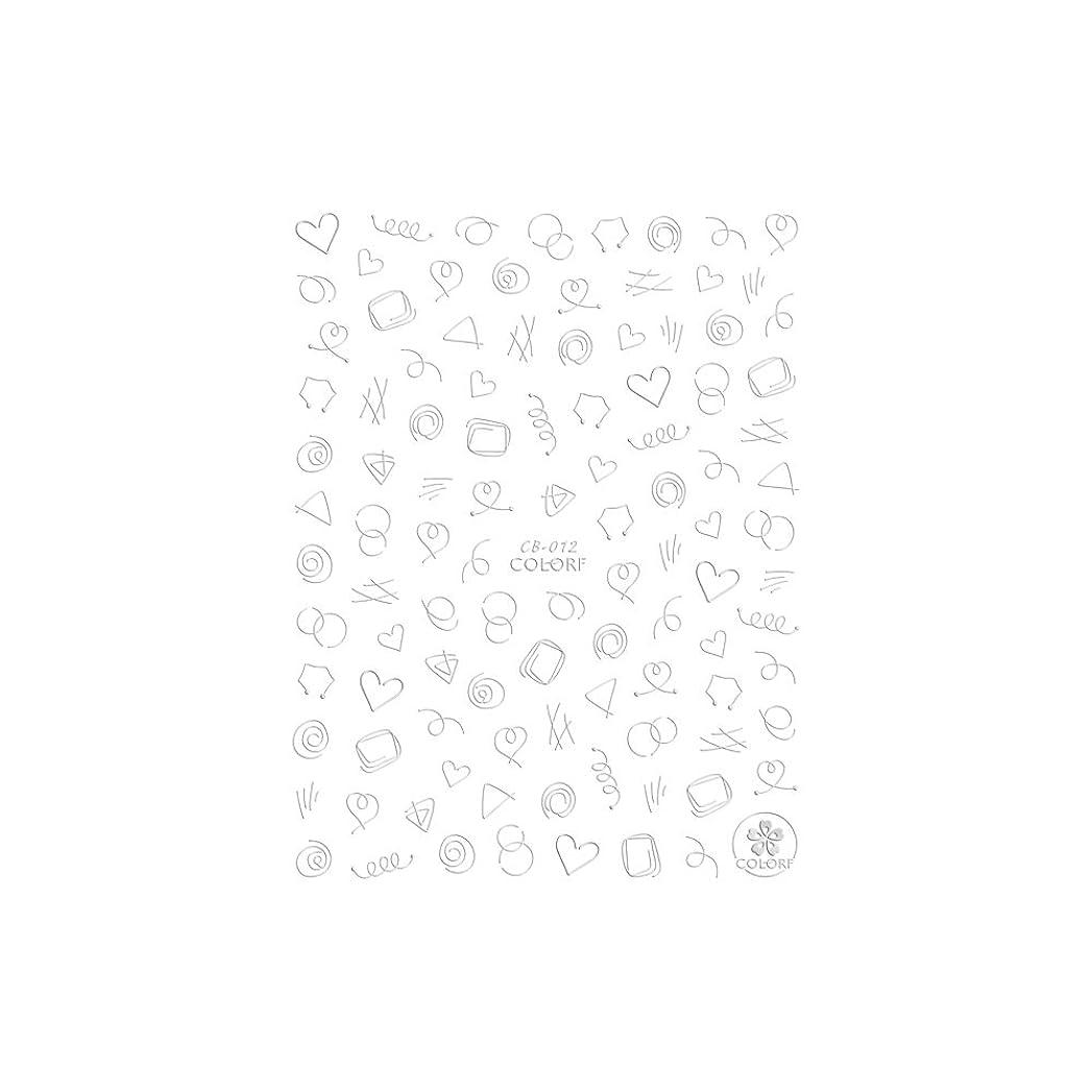 取り壊す偽物雑種【CB-012】ワイヤーラインシール【銀】