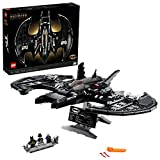 LEGO DC Batman 1989 Batwing 76161 Displayable Model with a Buildable Vehicle and Collectible Figures: Batman, The Joker – Mime Version and Lawrence The Boombox Goon, New 2021 (2,363 Pieces)