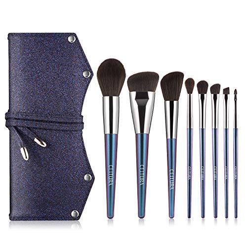 Pinselset Makeup, Kosmetikpinsel, CEITURA Extraweiche und synthetische Pinselborsten, Handgefertigte...