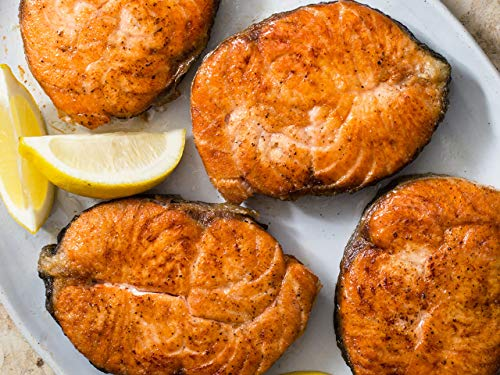 Salmon Steaks Done Right