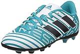 adidas Nemeziz Messi 17.4 FxG J, Zapatillas de Fútbol Unisex Niños, Multicolor (FTWR White/Legend Ink/Energy Blue), 38 EU