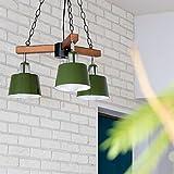 PROJECTS チェーンペンダントライト 3灯 BELLME(ベルミー) (リモコン・電球付属なし(本体のみ), グリーン)