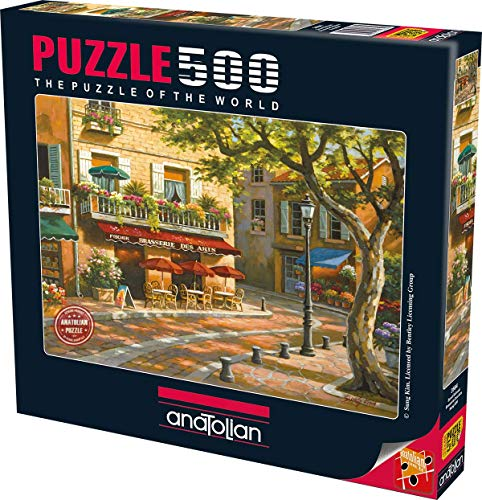 Brasserie des Arts Jigsaw Puzzle (500 Pieces) by Anatolian