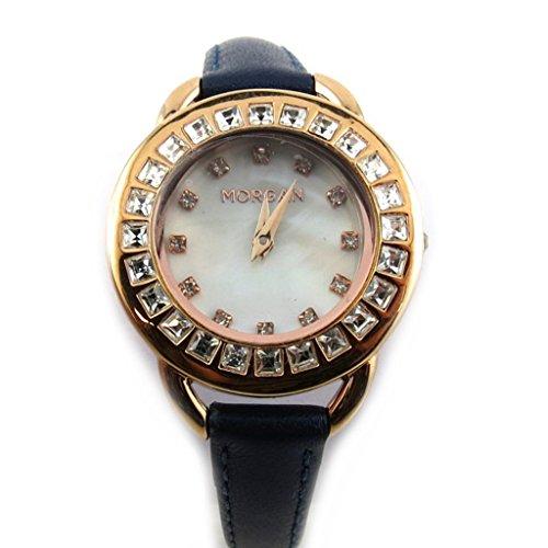 Morgan [N2373] - Armbanduhr 'French Touch' 'Morgan' meeres goldfarben rosa (diamanten).