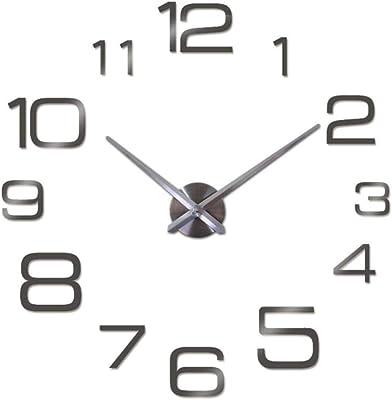 New Wall Clock 3D Acrylic Mirror Clocks Reloj De Pared Quartz Watch Horloge Home Living Room
