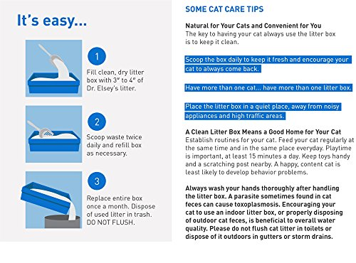 Product Image 1: Dr. Elsey's Ultra Premium Clumping Cat Litter, 40 pound bag ( Pack May Vary )