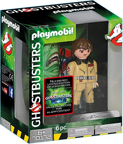 Playmobil Ghostbusters Edition Collector P. Venkman, 70172
