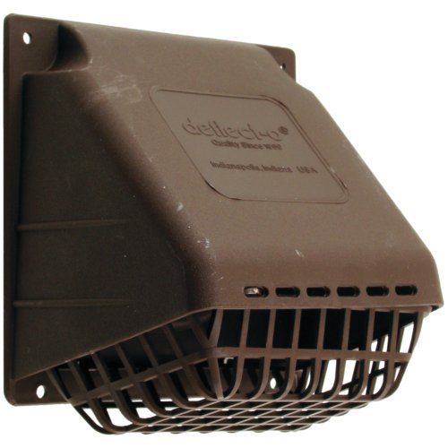 DEFLECTO HR4B Replacement Vent Hood, Brown