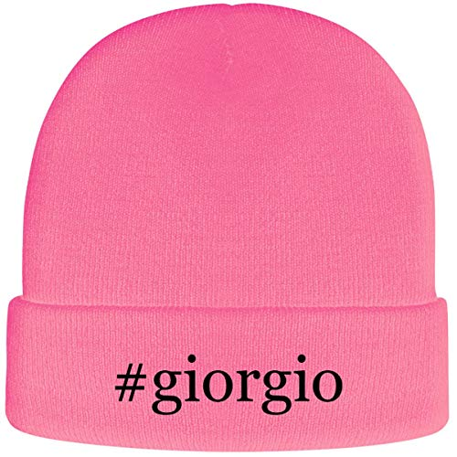 #Giorgio - Hashtag Soft Adult Beanie Cap, Pink