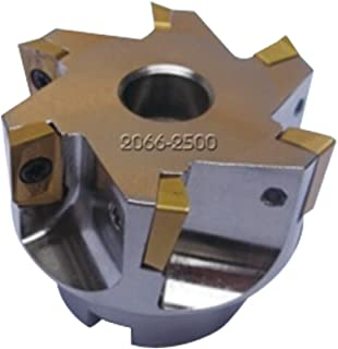 HHIP 2061-4004 90 Degree Square Nickel Coated Indexable Face Mill 4 X 1-1//2 Bore