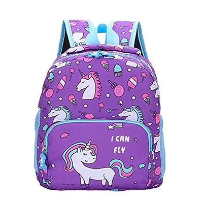 Unicornio Lindo Niños Preescolares Mochila Mochila Niño Bolsas De Libros para Niños Niñas