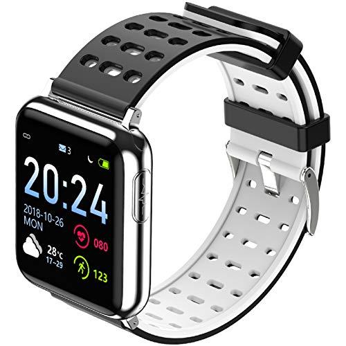 Reloj Inteligente deportivo Smartwatch Pulsera Deportiva Inteligente, Monitor De Actividad Física Corporal Recordatorio De Llamada Pulsera Inteligente Rastreador De Actividad Física Monitor De Frecuen