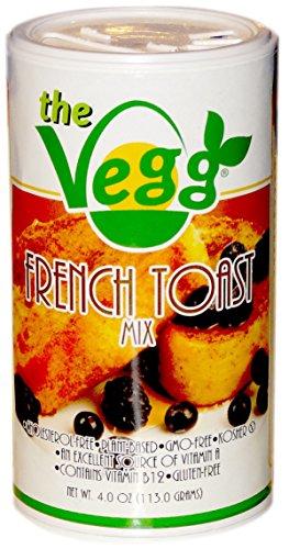 VEGG FRENCH TOAST MIX   Gluten-Free, Vegan Plant Based Egg-Free French Toast Mix