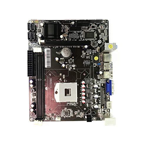 GIAO Scheda Madre Micro ATX Mainboard Fit for PCWinmax HM77OR HM76 DDR3 Socket PGA989 Processore Intel I3 I5 I7 Series 2/3 Generazione CPU Scheda Madre per Computer