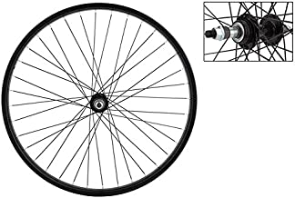 WheelMaster Rear Bicycle Wheel 26 x 1.75/2.125 36H, Steel, Bolt On, Black