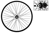 Wheel Master Rear Bicycle Wheel 26 x 1.75/2.125 36H, Steel, Bolt On, Black