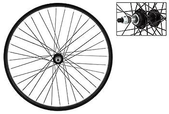 Wheel Master Rear Bicycle Wheel 26 x 1.75/2.125 36H Steel Bolt On Black