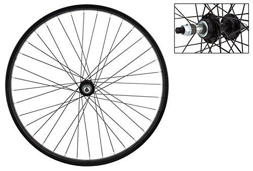 Wheel Master Rear Bicycle Wheel 26 x 1.75/2.125 36H, Steel, Bolt On, Black