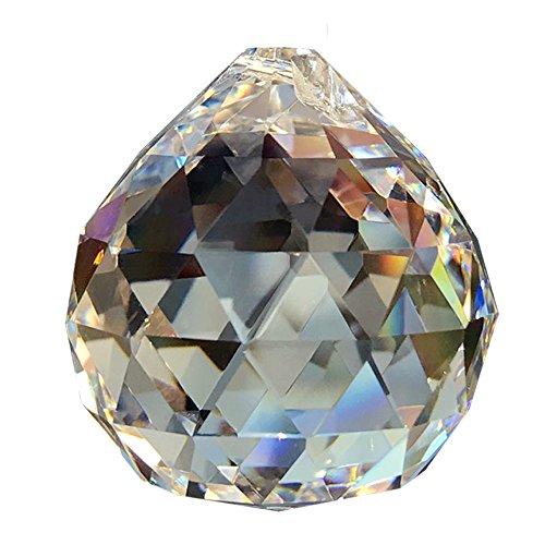 Christoph Palme Leuchten Riesen Kristallkugel ø 70 mm !! 30% Hochbleikristall Hoch Brillant Regenbogenkristall Kristall Kugel Zum aufhängen Fensterschmuck Feng Shui Kristallglas