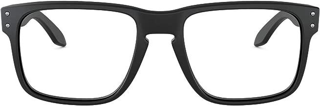 Óculos Oakley OX8156 815601 Preto Lente Transparente Tam 54