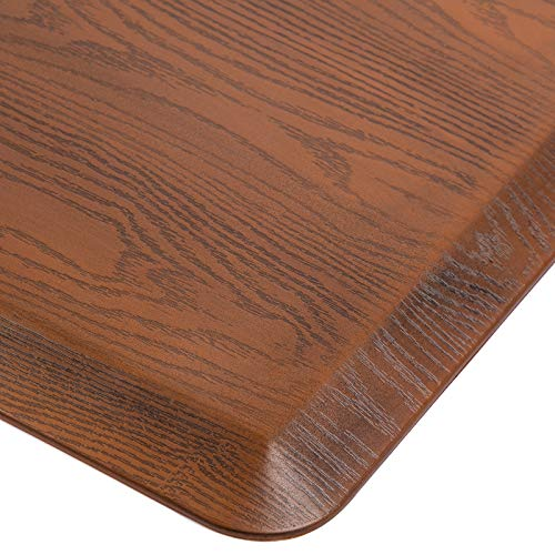 Lubvlook Anti Fatigue Comfort Floor Mat, 3/4' Thick Ergonomic Home Office Kitchen Standing Adjustable Height Desk Mat, 20' x 30', Walnut