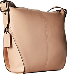 COACH Dufflette in Natural Calf Leather Dk/Beechwood One Size