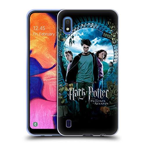 Officiel Harry Potter Ron, Harry & Hermione Poster Prisoner of Azkaban IV Coque en Gel Doux Compatible avec Samsung Galaxy A10 (2019)