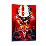 Huangchen F1 Weltmeister Sebastian Vettel Racing Driver