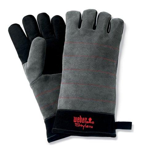 Weber Fingerhandschuh Weber Style, schwarz 6456