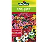 Dehner Blumen-Saatgut, Elfenspiegel 'Triumph Mischung', 5er Pack (5 x 1.5 g)