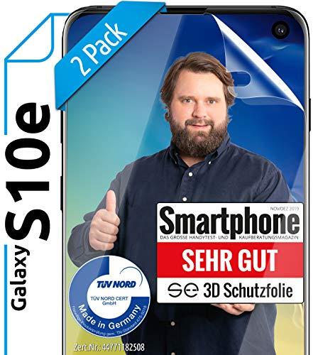Bester der welt [2 Stück]                                                                                                                                                                                                                                                                3D Displayschutz für Samsung Galaxy S10e – [Made in Germany – TÜV NORD] – HD…