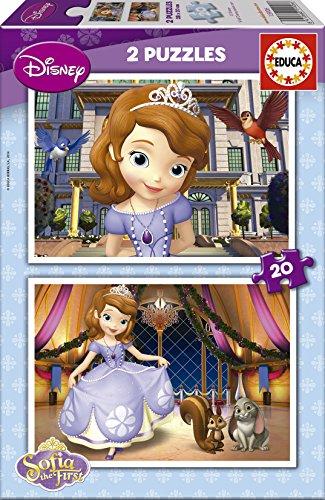 Educa Borrás Princesa Sofía - 2 Puzzles de 20 Piezas 15926