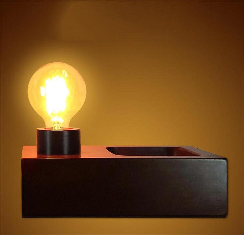 TOYM- TOYM- TOYM- Klassisches Schlafzimmer Bedside Log Holz Massiv Holz Klassische Persönlichkeit Kreative Retro Holz Lampe B0722HJYSW   Preisreduktion  da9932