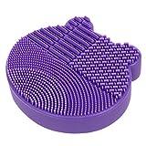 Beaupretty Make-Up Pinsel Reiniger Matte 2 in 1 Silikon Kosmetik Pinselhalter Pinsel...
