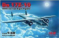 ICM 1/48 ドルニエ Do 17Z-10 夜間戦闘機 プラモデル